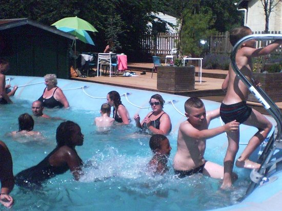 Camping de la Trye: piscine
