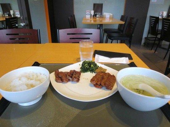 Date no Gyutan (Sendai Station 3F shop) : 牛タン定食