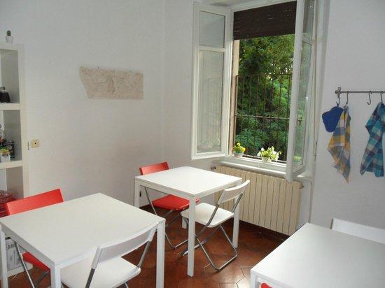I Ghiri: Breakfast area
