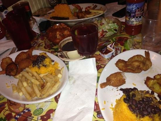 El Siboney Restaurant: gamberi