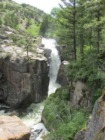 Shell Falls in the Bighorn National Forest