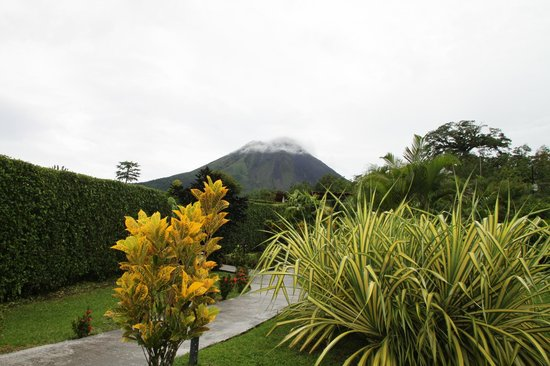 View from Arenal Volcano Inn
