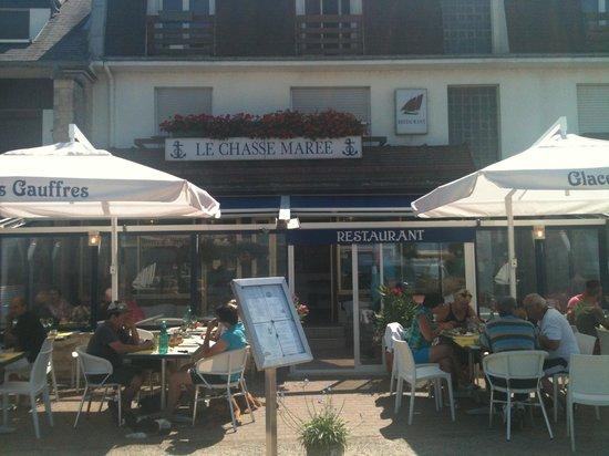 Merville-Franceville-Plage, France: Façade du Chasse marais