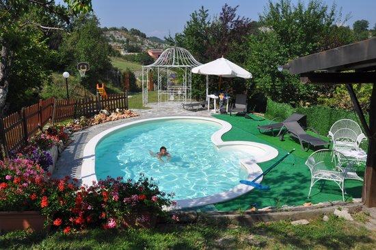 Villa Eugenia: Piscine