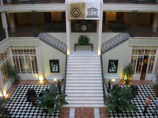 Gran Hotel Aqualange: Interior hotel