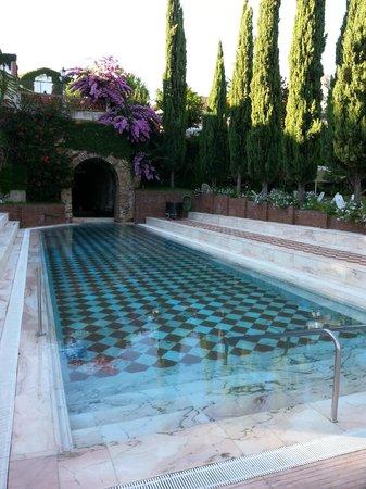Gran Hotel Aqualange : Piscina exterior balneario