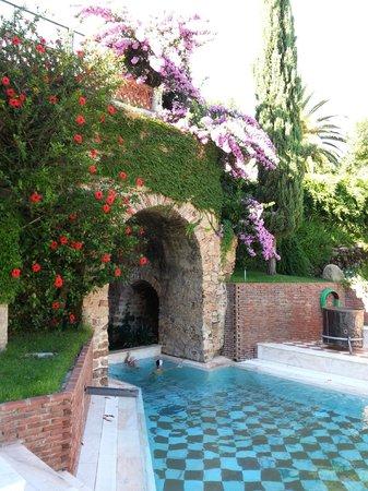 Gran Hotel Aqualange : exterior piscina del balneario