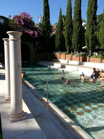 Gran Hotel Aqualange : Esterior piscina balneario
