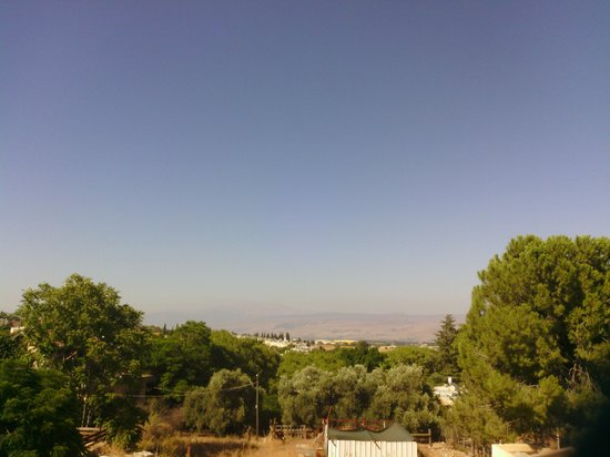 Aviv Bagan: View from the rear of garden