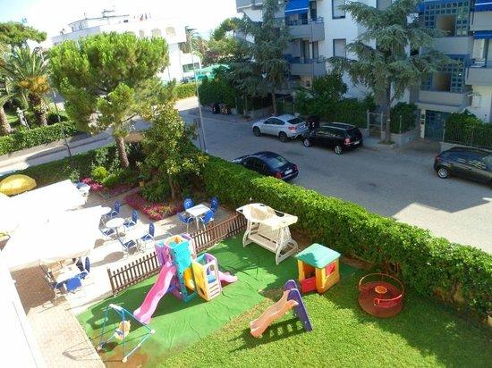 Hotel Rex: Vista dal balcone