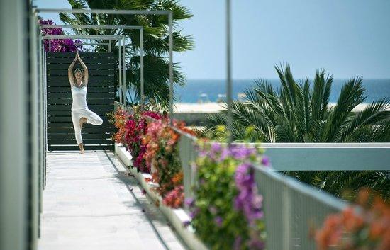Hotel Dunas de Sal: Room Corridor_Yoga Class