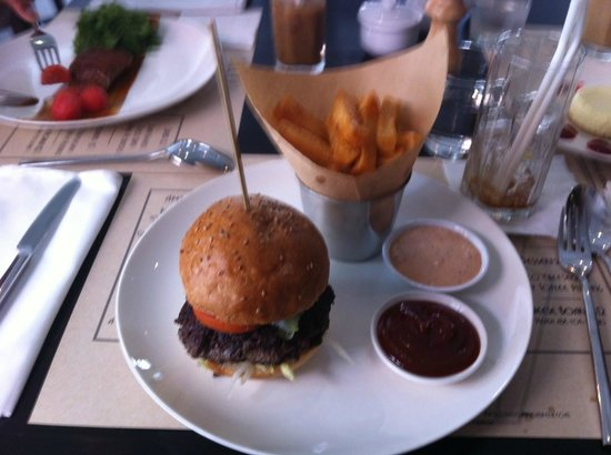 Deco : Burger and Chips