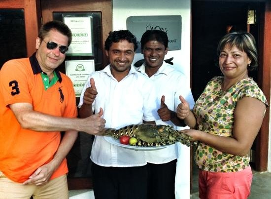 Malli's Seafood Restaurant: Giant Lobster