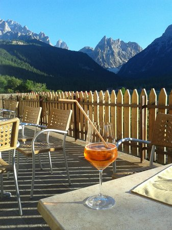 Biovita Hotel Alpi: la visione dalla terrazza dell'hotel