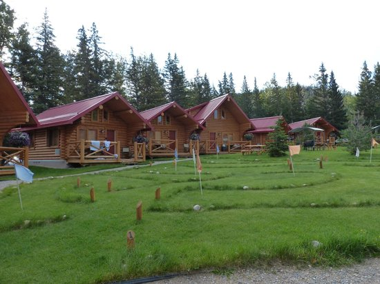 Pocahontas Cabins : The new cabins