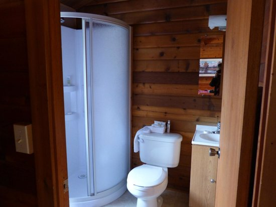 Pocahontas Cabins: Shower