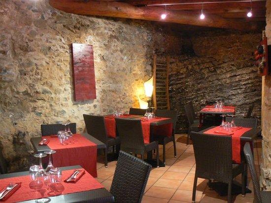 Restaurant Le Parc : salle de caractere