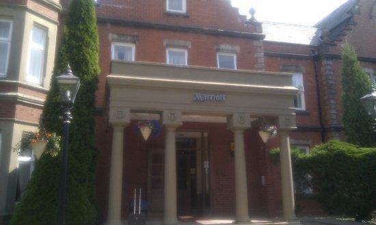 Preston Marriott Hotel: Entrance