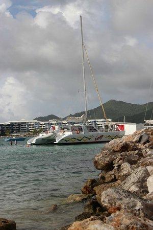 Tango Caribbean Dinner Cruise: The Tango at Pelican Marina, Simpson Bay