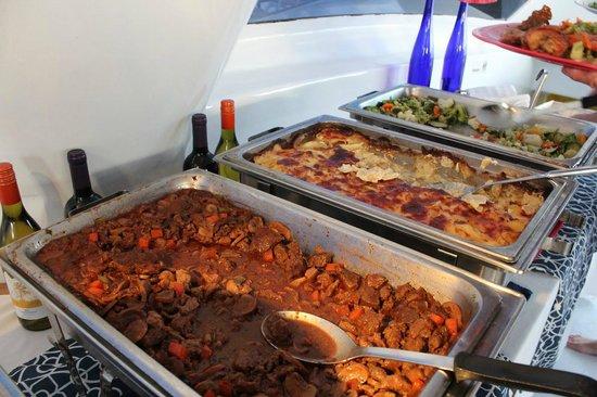 Tango Caribbean Dinner Cruise: Delicious creole style dinner