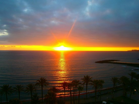 Sol Tenerife : Amazing sunset from our balcony