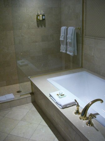 Madison Beach Hotel, Curio Collection by Hilton: Bath? Shower?? YES please!!!