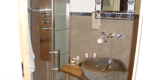 La Bastide de Trémiéjols : Salle de bain