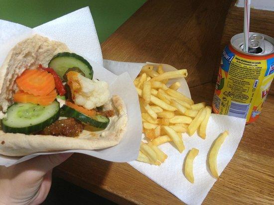 Maoz Vegetarian : my 8.20 euro lunch