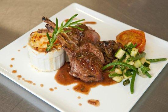 Restaurant Beau Jardin : Carré d'agneau