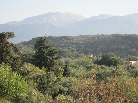 Arosmari Village Retreat: View from upstairs balcony
