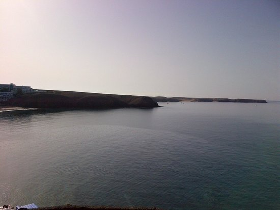 THe Mirador Papagayo : View from balcony looking  across to Papagayo beaches
