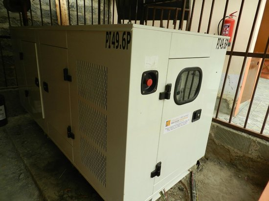 Beisa Hotel : Backup Generator
