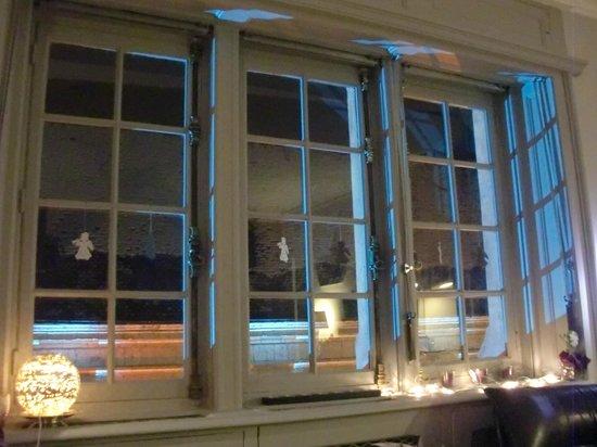 Le Balcon du Prince : Fenêtres à Noël