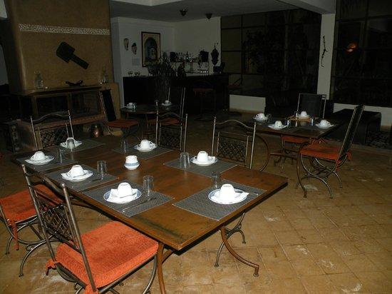 Riad Le Ksar de Fes : salle des repas