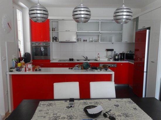 Apartments Laus: Cocina