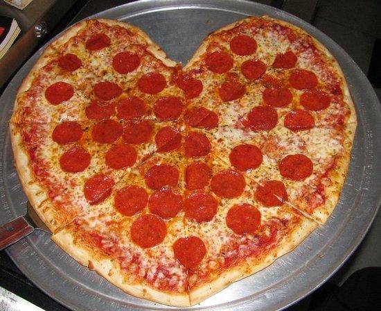 Luke 'n Ollie's Pizzeria: We love Pizza. Happy Valentines Day