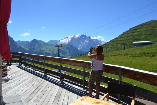 Rifugio Salei: Panorama dalla terrazza
