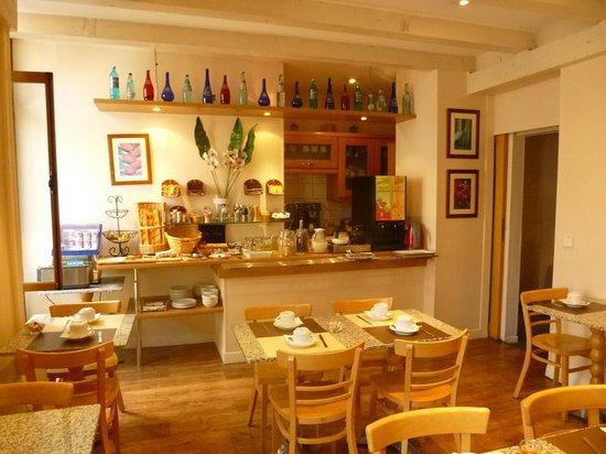 Hotel du Nord : The breakfast room