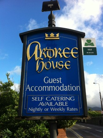 Ardree House: Sign