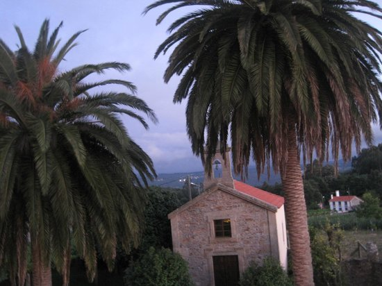 Pazo de Galegos: Vista desde habitación