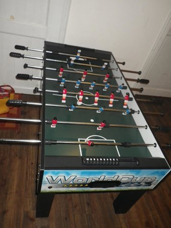 Die Insel: The restaurant even has a foosball table!