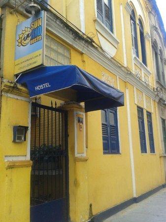 Sun Rio Hostel: Entrada