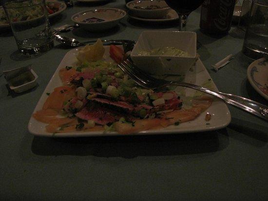 Stella Maris Clubhouse Restaurant: Seared Ahi Tuna