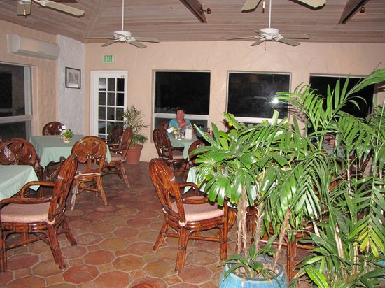 "Stella Maris Clubhouse Restaurant: Lovely ""old Caribbean"" charm"