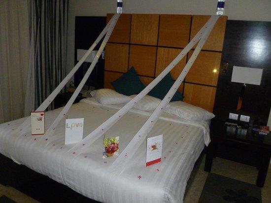 Cleopatra Luxury Resort Sharm El Sheikh : Sharing our anniversary