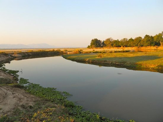 Mana Pools National Park: The mouth of the Mana River