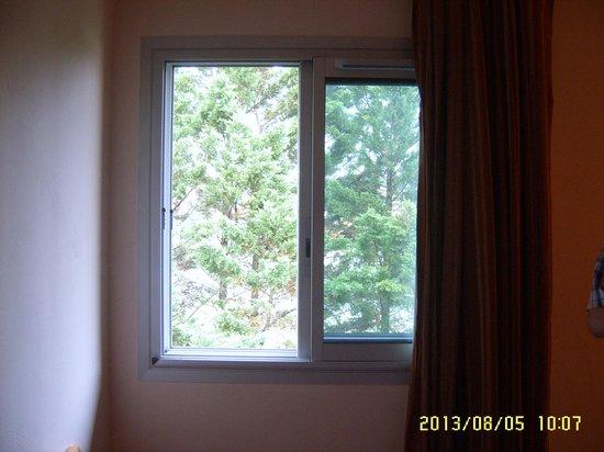 Hotel Le Biarritz : Wat zie je als je door het raam kijkt ?