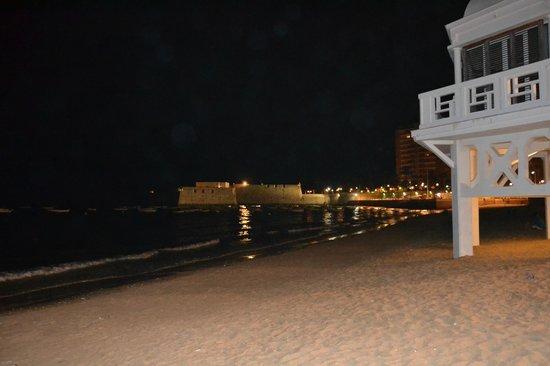 Cadix, Espagne : De noche