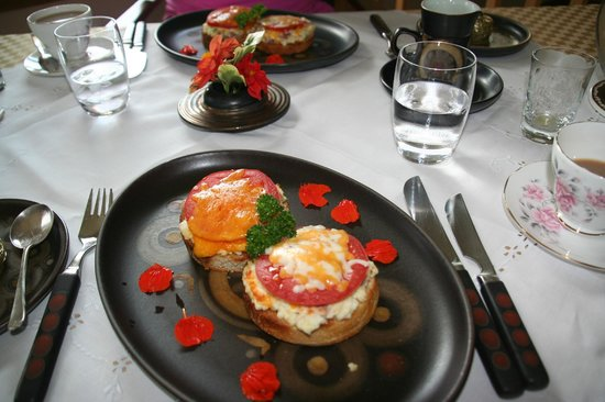 The Boathouse B&B: Scrumptious breakfast