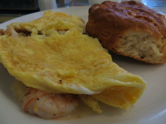 Dixie Supply Bakery & Cafe : Omelet with Brie & Carmelized Onions